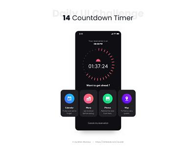 Countdown Timer - Daily UI 014 app mobile ui countdown dailyuichallenge ui design ui design dailyui