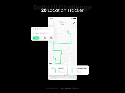 Location Tracker - Daily UI 020 dailyui 020 tracker app tracker mobile mobile design sketch app mobile ui dailyuichallenge ui design ui design dailyui