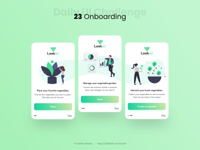 Onboarding - Daily UI 23 mobile ui mobile design mobile sketch dailyuichallenge ui design ui design dailyui