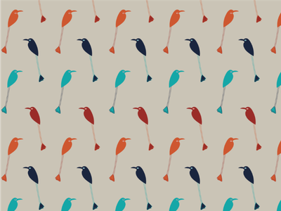 Birds seamless pattern patterns textiledesign garment