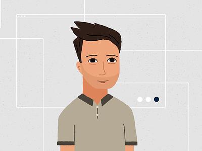 Faces of Nuna: James identity brand diversity data people illustration blog startup