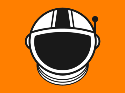 New Desastronaut Logo astronaut personal identity logo design