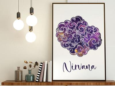 Cloud Illustration vector logo illustrations minimal illustration flat design artwork adobe illustrator