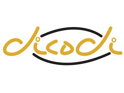 dicodi 002 logo type logo design logo