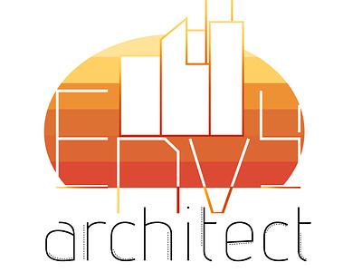 Envy Architect modern inspiration logotype modern-retro logo-design logo