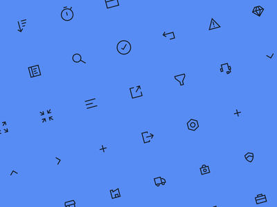 Cimple Finder - Iconography expand collapse diamond search black blue iconography icons design vector illustration interface design significa ux ui iconset icons
