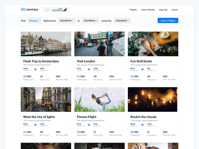 Airstripe - Web App