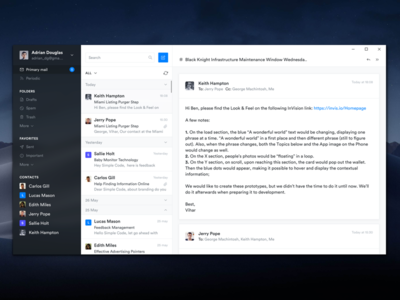 Email Client App