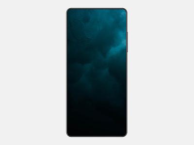 Futuristic device mockup [Free Figma] future mobile ui ux mockup template display vector iphone phone mockup free device mockup device timeless