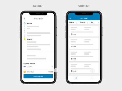 Cash payment for delivery tracking cash payment courier shipping logistics delivery ecommerce motion mobile minimal flat app clean ux interface ui