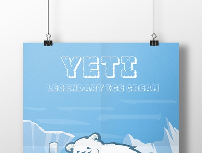 мороженое illustration typography design branding