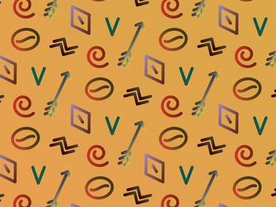 Africa Pattern pattern africa nature desert savannah arrow minimalistic