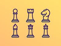 Chess icons freebie