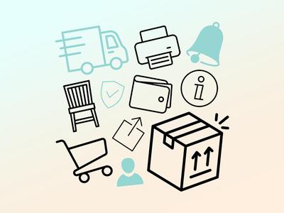 Icons for Gebraucht.de