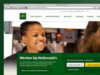 McDonald's Dutch careersite