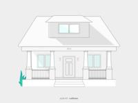 Illustration - Architecture Series - Style #3 Craftman