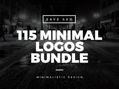 115 Minimal Vintage Logos Bundle minimal bundle vintage logos vintage logo vintage retro logos logo labels label inspiration badge
