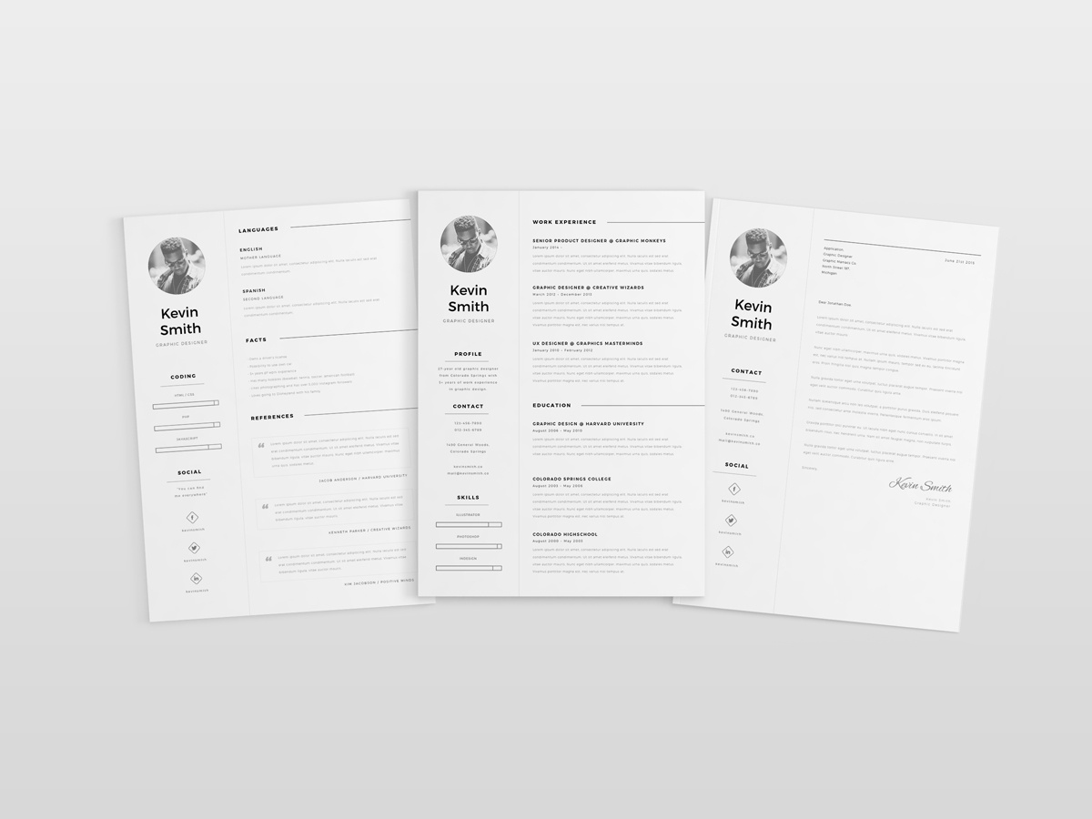 Dribbble Free Resume Template Mockup 04 Jpg By Mats Peter Forss
