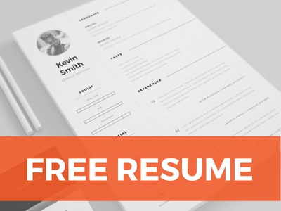 Free clean minimal resume template by mats peter forss dribbble free clean minimal resume template pronofoot35fo Gallery