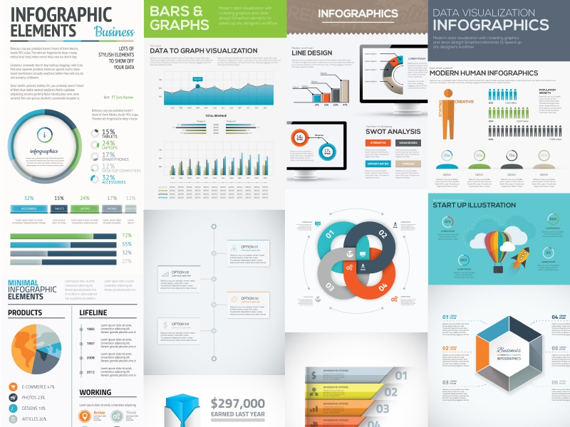 free  10 infographic templates freebie by mats