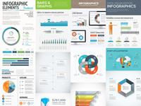 [Free] 10 Infographic Templates Freebie