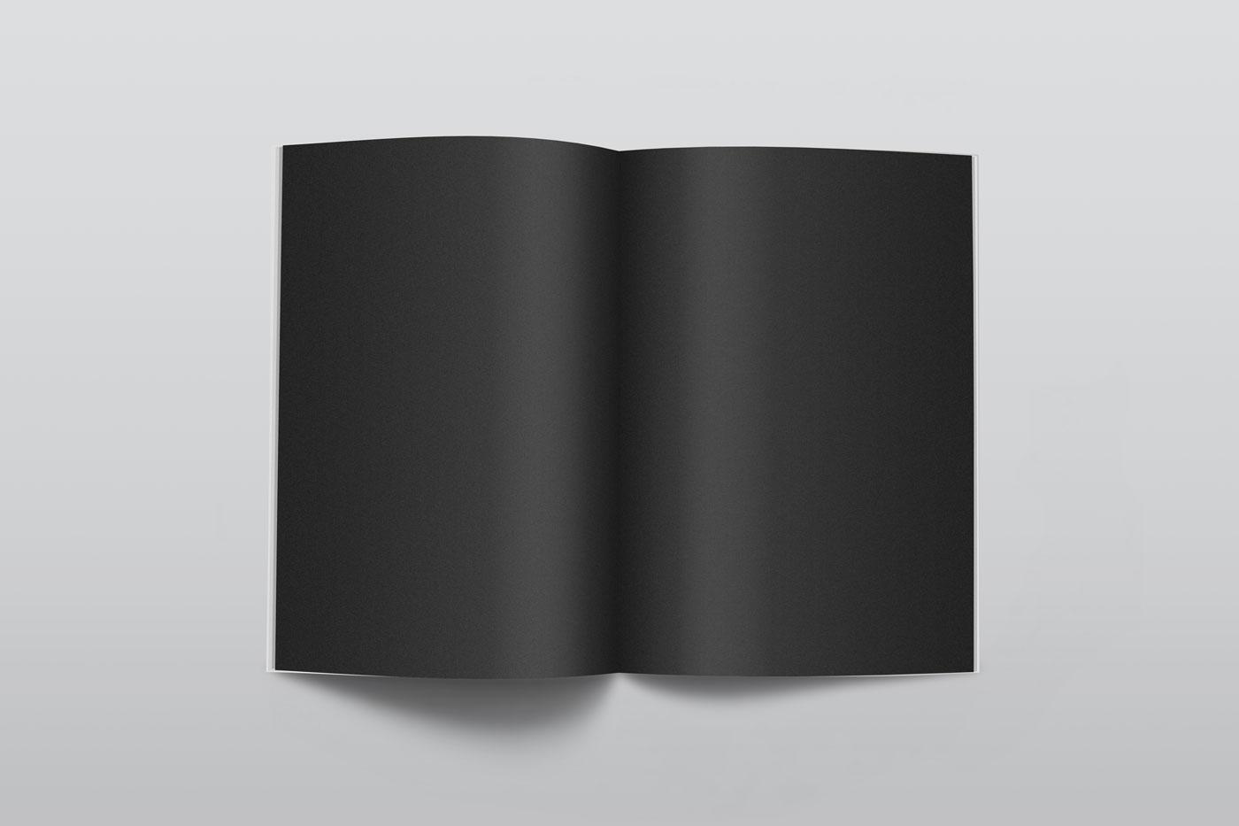 Magazine mockupblack