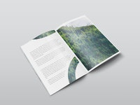Isometric magazine mockup images