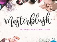 NEW Masterblush Font!