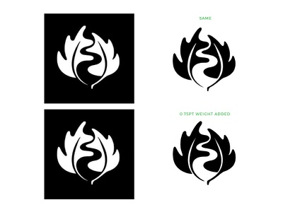 Which Do You Prefer Better? space negative what white black question creative inspiration greek jacobs logo