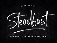 [25% Quick-Sale] Steadfast Script Font
