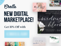 Upcoming Affiliate Banners instagram advertisement banner ads banner ad new cool marketplace graphics fonts font digital design banner affiliate