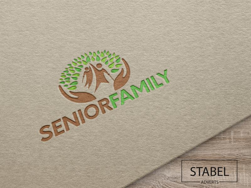 logodesign seniorfamily logotype logodesigner logos logodesign vector logo design