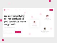 HR App — Website