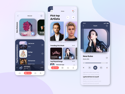 SayMusic music player music streaming streaming music app music mobile design ui app design mobile ui mobile app mobile app design ui design application