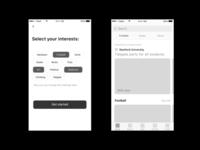 Event App Ux
