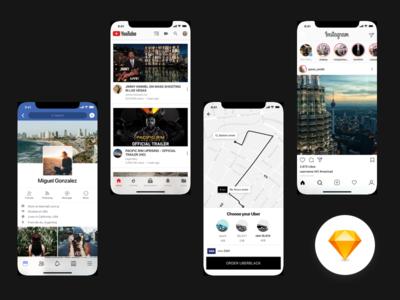 Popular apps - iPhone X