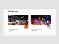 Creative Quarter - locations