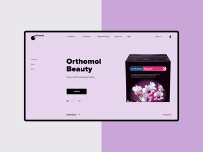 Orthomol - homepage