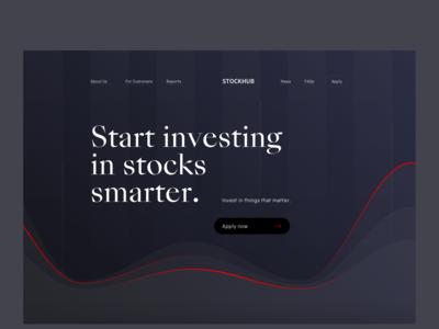 Stockhub - Website redesign