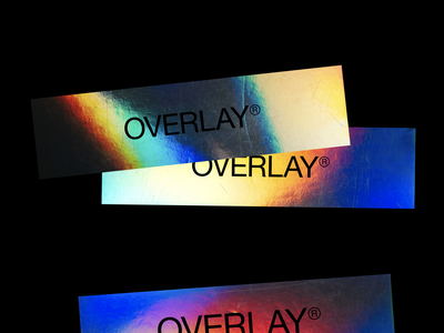 Overlay typography branding clothing fashion minimal clean