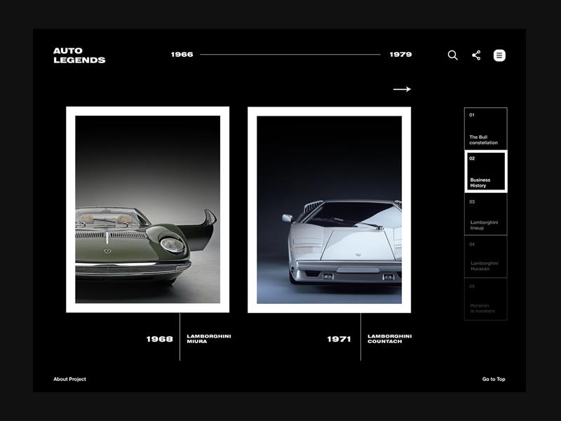 Lamborghini / Long read media / 03 long read lamborghini online media storytelling