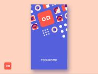 Techrock App - Splash screen