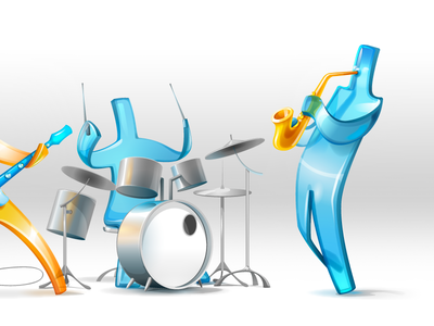 Jelly musicians