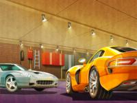 Modern Sport cars