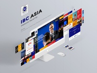 IBC Asia Website Redesign/ Revamp - UX/UI