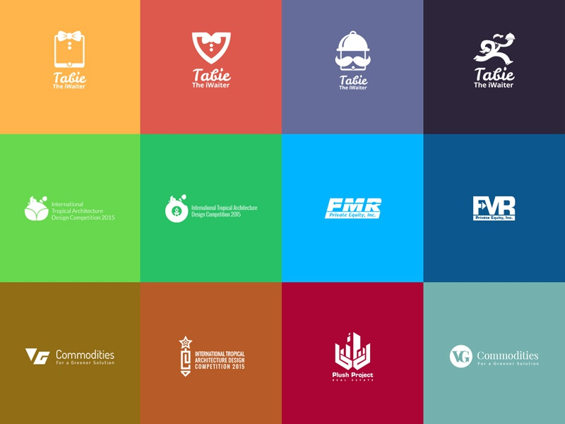 logos mark brand identity collection by amit saswari dribbble