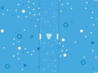 Dots & Hexagons Pattern