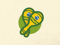 Brazil Macaras Sticker