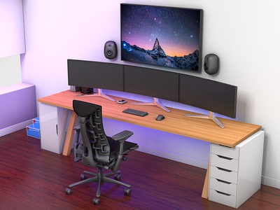 Unbox Therapy Setup