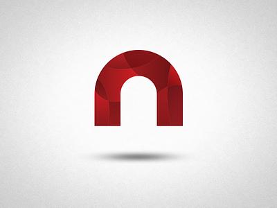'n' logo concept modern gradients logo typography logochallenge graphic design dailylogochallenge logo design n illustration